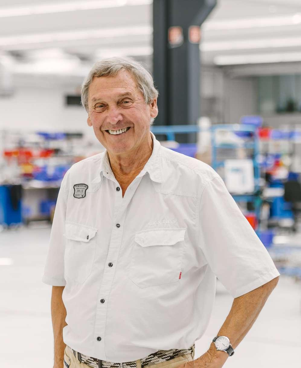 Hr. Kröffges vom Planungsbüro Solarvision