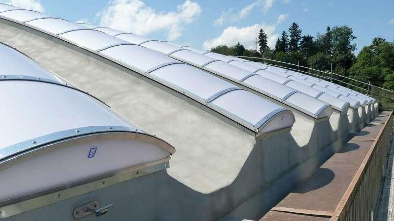 Steeltec AG | Emmenbrücke, Switzerland • 18 x proline 28.6m x 1.25m
