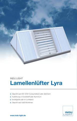 Lamellenlüfter Lyra