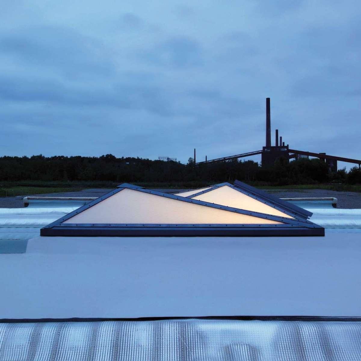 openOffice | Zeche Zollverein, Essen • Customised design with PLEXIGLAS® Aerogel glazing.