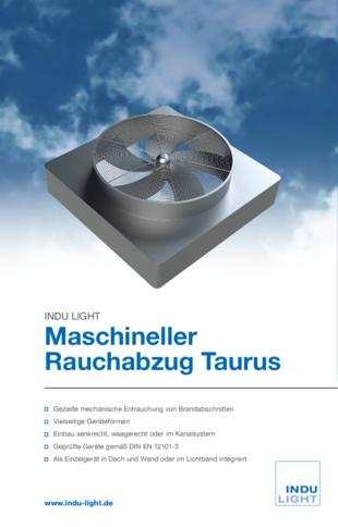 Maschineller Rauchabzug Taurus