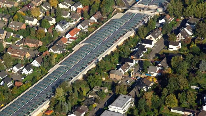 Noise abatement measure A1 | Cologne Lövenich • 188 Labyrinth ventilator Hydra 4 x 6m