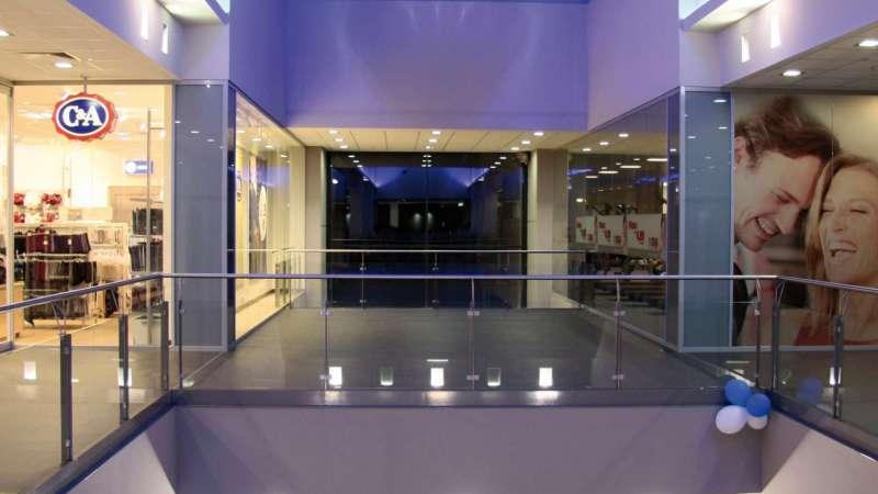 Rothmühl-Passagen (Shopping mall) | Roth • 1 x Proline 36m x 5.70m, 7NSHEV flaps