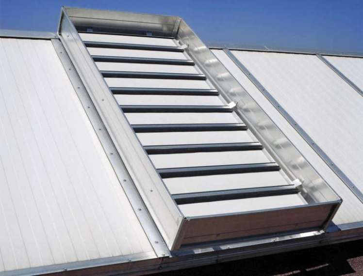 LLP louvered ventilator