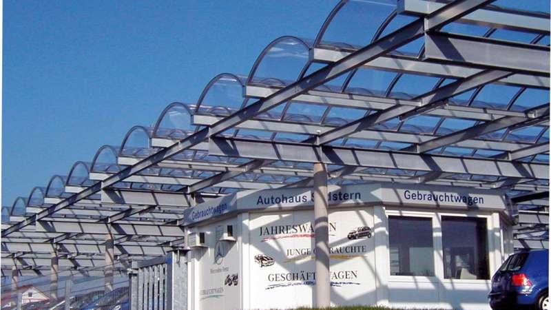 Autohaus Südstern (Car dealership) | VS-Villingen • 19 x Cityline acrylic glas 37m x 2.20m
