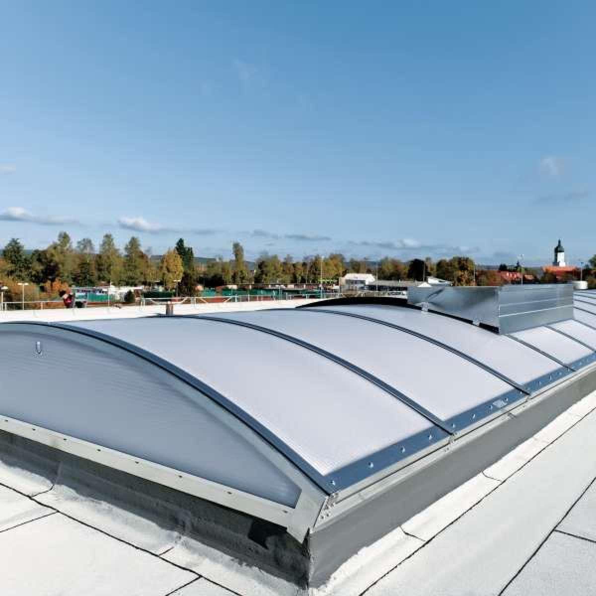 Ablachhalle (Sports hall) | Mengen • 2 x Topline ELS 38 m x 3 m, 6NSHEV flaps